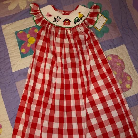 Farm smock dress